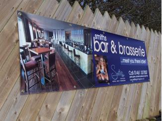 image of banner for restaurant in gretna green